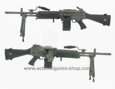 Stoner M63 mit Ammunition Box