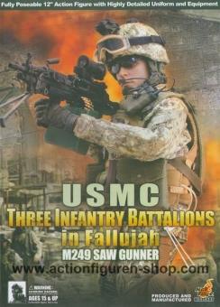USMC - M249 SAW Gunner