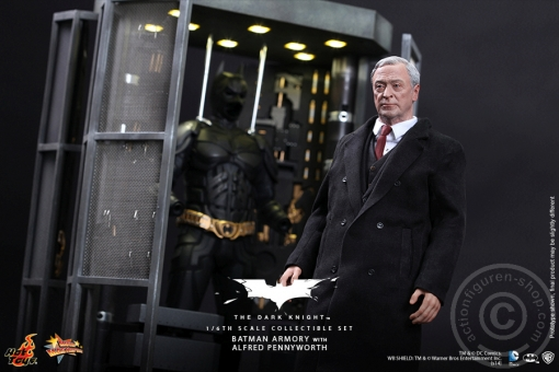 The Dark Knight - Batman Armory w/ Alfred Pennyworth