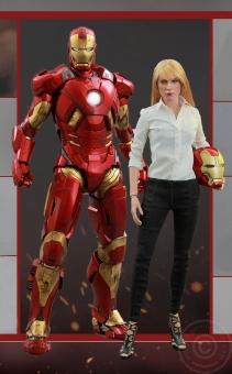 Iron Man 3 - Pepper Potts + Mark IX