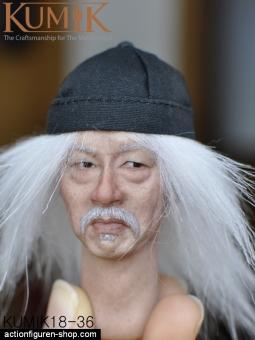 Old Asian Guy - Kopf - KUMIK
