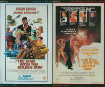 James Bond 007 - R.Moore & Chr.Lee