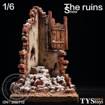 The Ruins Snow - Diorama