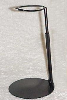 Actionfiguren Ständer O-Form - schwarz