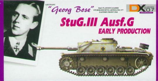 StuG.III Ausf.G - Georg Bose - DX07 EU Exclusive & Signiert !