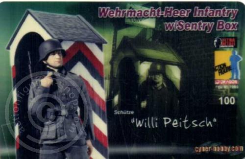 ID - Sammler-Karte - Willi Peitsch