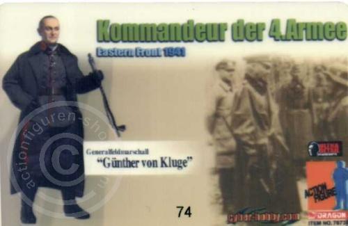 ID - Sammler-Karte - Günther von Kluge