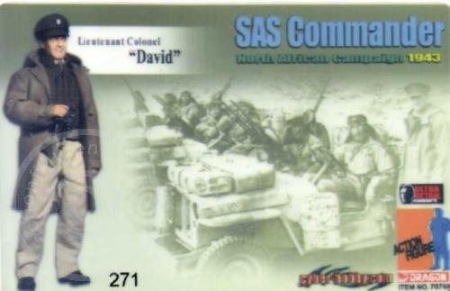 ID - Sammler-Karte - Lt. Colonel David