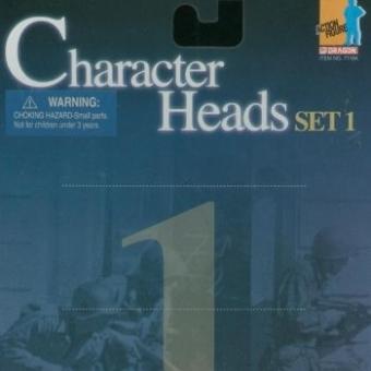 Actionfiguren Kopf Set 1