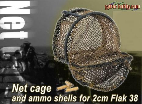 Fangnetz-Käfig für 2cm FLAK 38