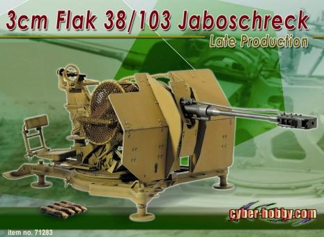 3cm Flak 38/103 Jaboschreck Late Production