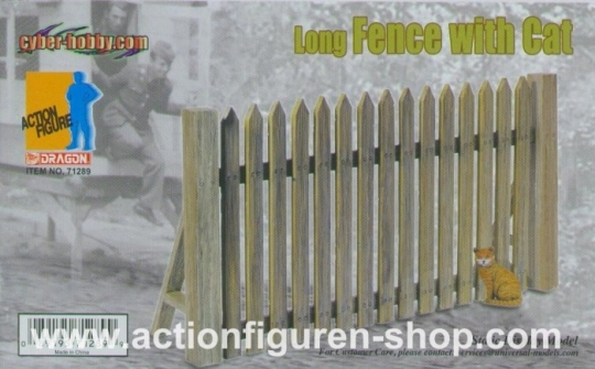 Fence (long) with Cat