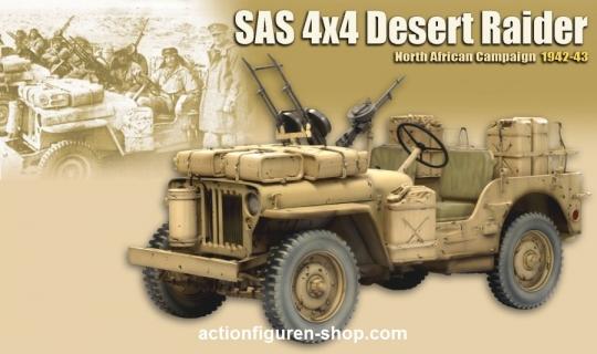SAS 4x4 Jeep - Desert Raider