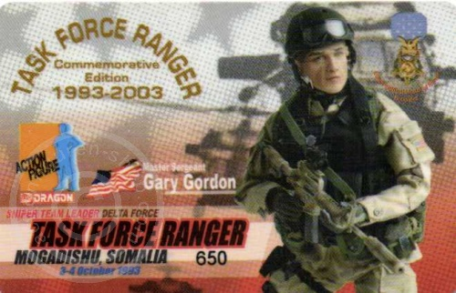 ID - Sammler-Karte - Gary Gordon
