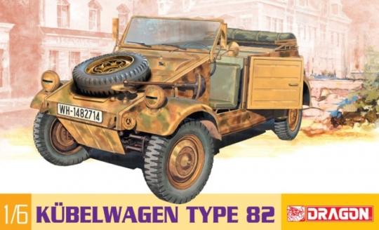 Kübelwagen Bausatz in 1:6