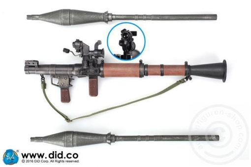 RPG-7 Grenade Launcher with 2 Granades