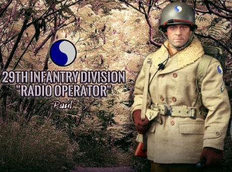 Paul - 29th Infantry Division Radio Operater