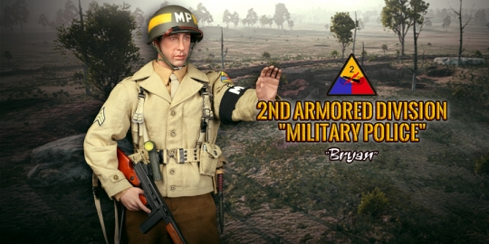 Bryan - 2nd Armored Division MP