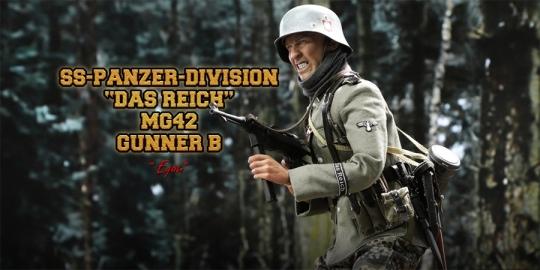 Egon - SS-Panzer-Division Das Reich MG42 Gunner