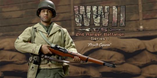 Private Caparzo - WWII US 2nd Ranger Battalion