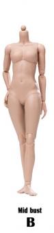 Super flexible Female Body - Modified Ver. - Sun-Tan B