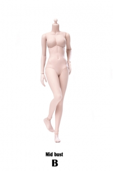 Super flexible semi seamless Female Body - Modified Ver. - Pale B