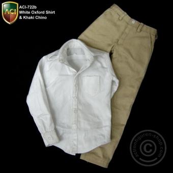 Oxford Shirt and Chino Pants Set
