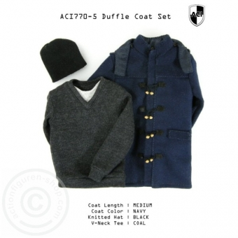 Dufflecoat Set - medium/blue