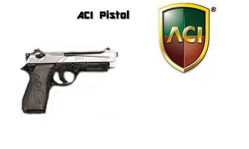 Beretta 90 Two Pistole - (silver/black)