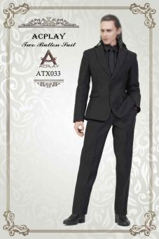 Two Button Suit Set