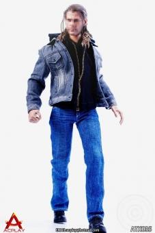 Men Jeans Suit Set