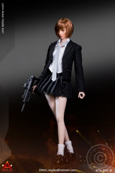 Battle Girl´s Uniform Suit Set - dark