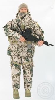 Bundeswehrsoldat Wüsten-Tarn - limited edition