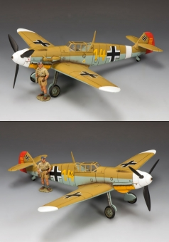 Hans-Joachim (Jochen) Marseille & his Bf 109