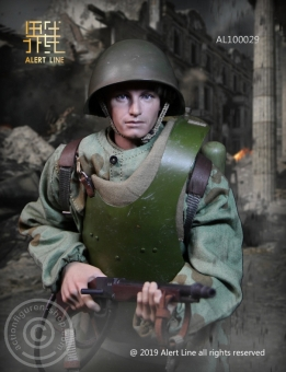 WWII Soviet Red Army Combat Engineer