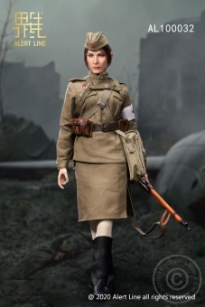 Red Army Female Medical Soldier