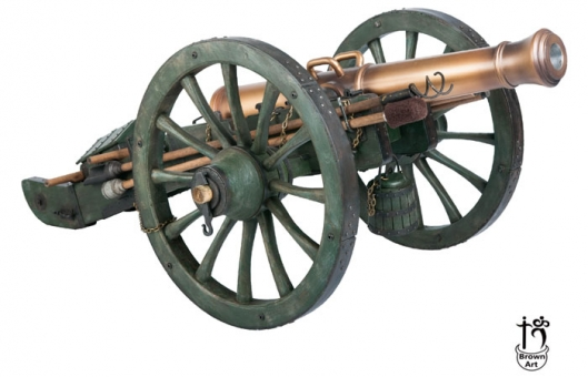 Gribeauval 12-Pounder Cannon