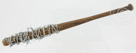 Baseballschläger mit Stacheldraht - Holz/Metall - 1/6