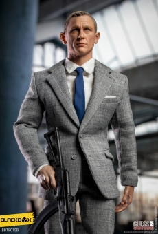 Agent James - Grey Suit