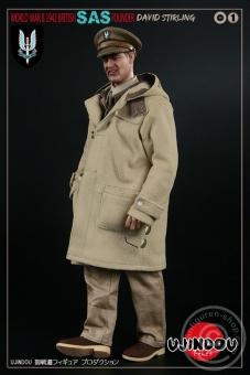David Stirling - WW-II 1942 British SAS Founder