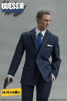 Agent James - Version A (dark-blue)