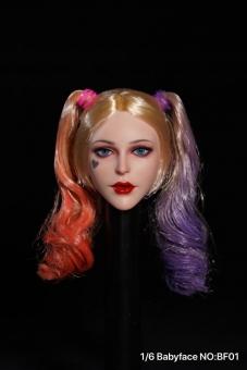 Female Joker Head - Babyface