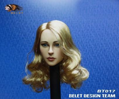 European Female Head - Blond