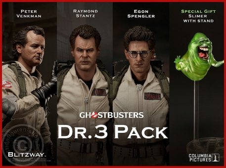Ghostbusters - 3 Figure - Special Pack