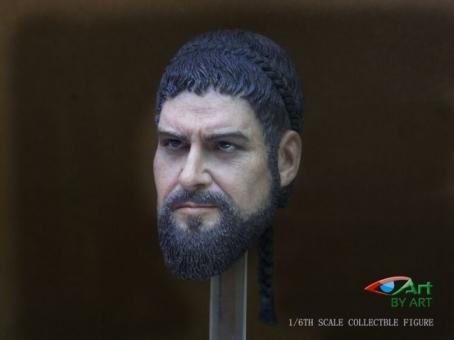 Gerard - Warrior - Head & Copper Helmet