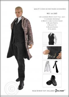 Leopard Men Suit Full Set