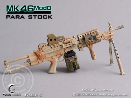 MK46MOD0-para stock - camouflage