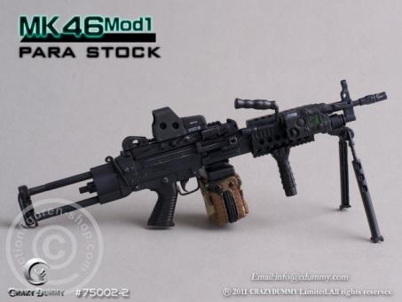 MK46MOD1-para stock - black