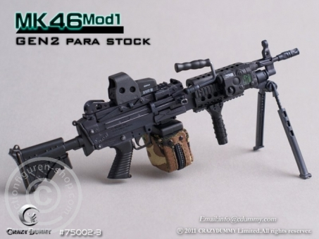 MK46MOD1-GEN2 para stock - black