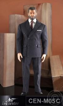 Gentelmen Striped Suit (dark grey)